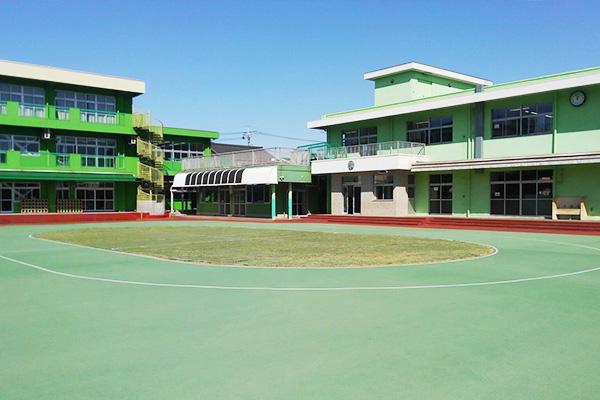 観音幼稚園 園庭